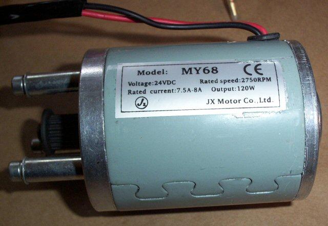 silnik 12v 24v serii my68 z jx motor co ltd